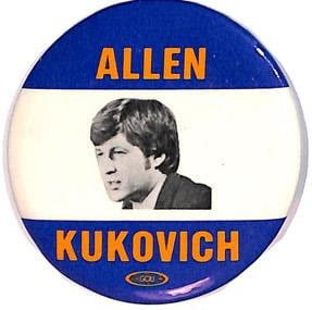 Allen Kukovich campaign button